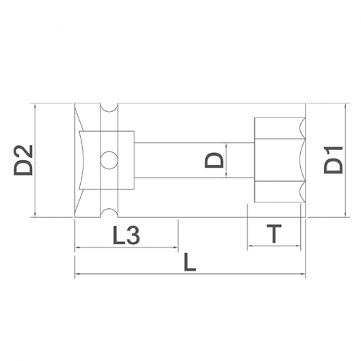 Plano de referencia Embocaduras Hexagonales de Speedrill